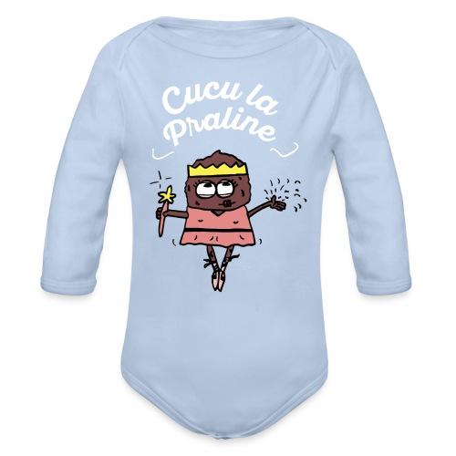 Body/Cucu La praline - VPC - Body bébé bio manches longues