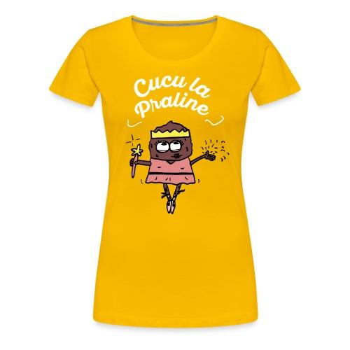 T-Shirt/F/Cucu la praline - VPC - T-shirt Premium Femme