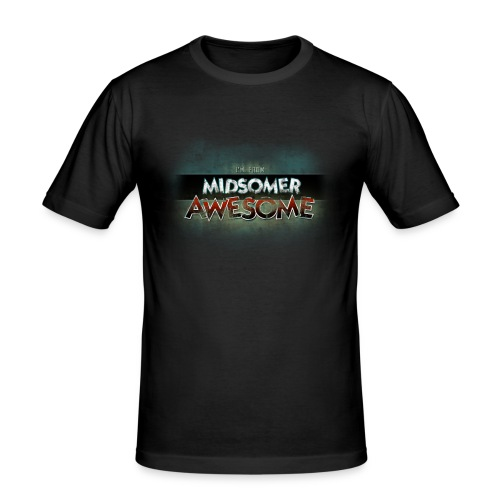 Midsomer Awesome - Men's Slim Fit T-Shirt