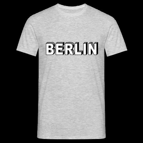 BERLIN Blockschrift - Männer T-Shirt