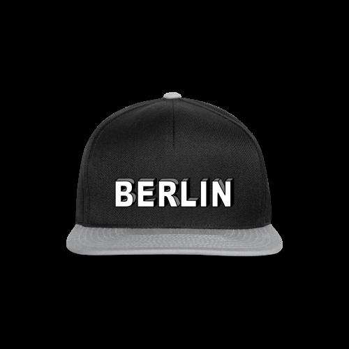 BERLIN Blockschrift - Snapback Cap