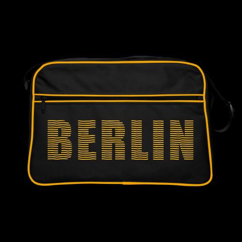 Retro Tasche mit Berlin aufdruck