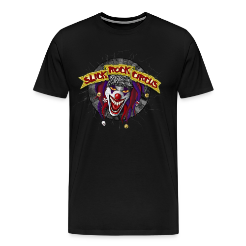 Slick Rock Circus - Evil Clown T-Shirt Men - Männer Premium T-Shirt