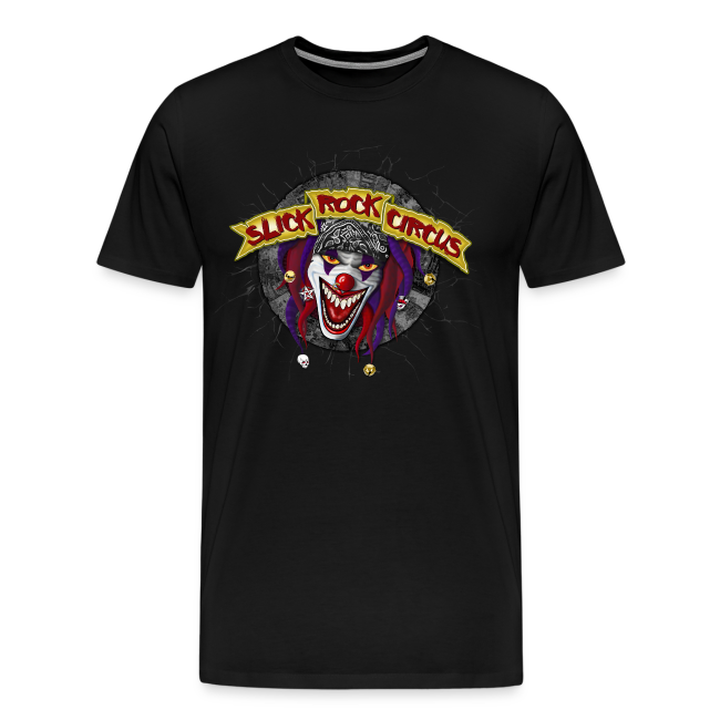 Slick Rock Circus - Evil Clown T-Shirt Men