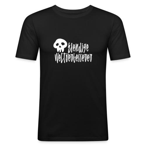Elendige Weltverbesserer - Männer Slim Fit T-Shirt