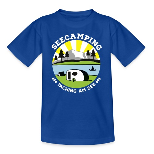 Kinder Shirt Seecamping Taching - Teenager T-Shirt