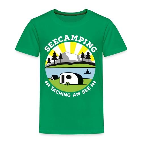 Kinder Shirt Seecamping Taching - Kinder Premium T-Shirt