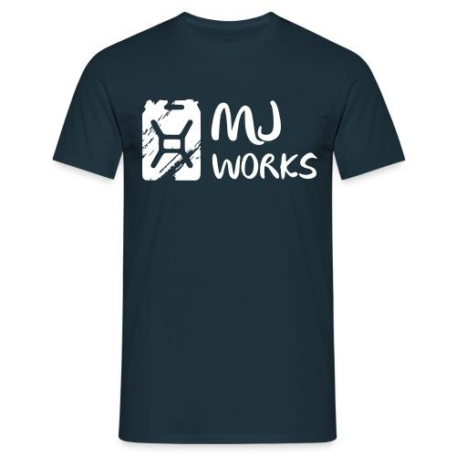 Works Dark/White Logo-Shirt - Männer T-Shirt
