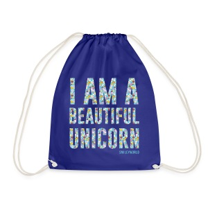 SmileyWorld I am a Beautiful Unicorn - Turnbeutel