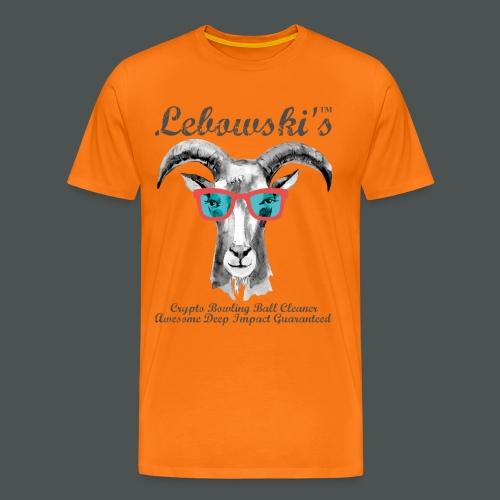 Lebowski's WEBERCUP XVII MANCHESTER 2016 - Männer Premium T-Shirt