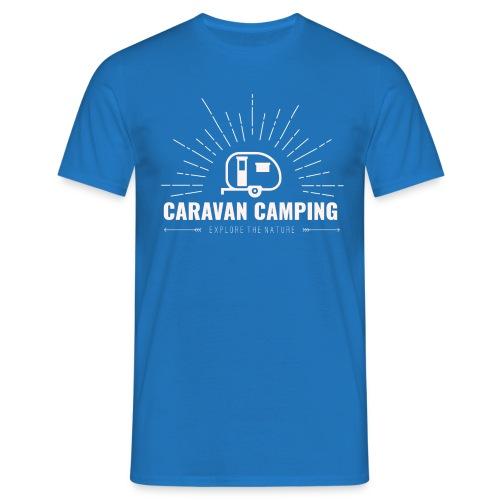 Caravan Camping - Maglietta da uomo