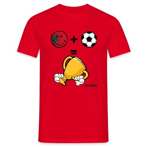 SmileyWorld Albania + Football = Winner - Männer T-Shirt