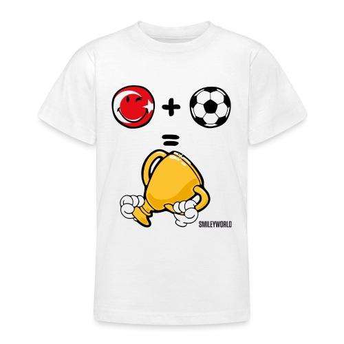 SmileyWorld Turkey + Football = Winner - Teenager T-Shirt