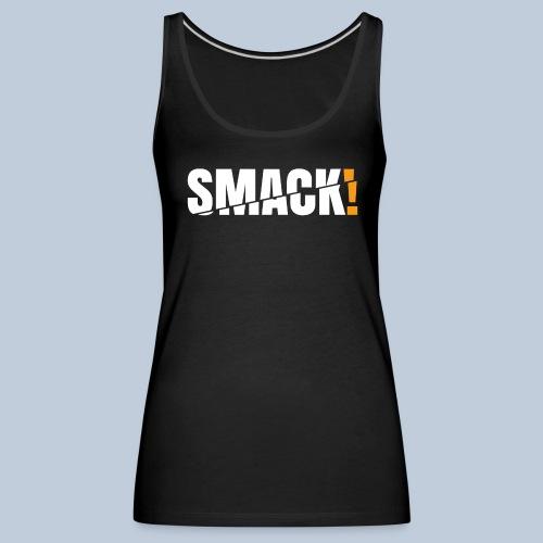 SMACK Tank Top sportlich, black (WOMEN) - Frauen Premium Tank Top
