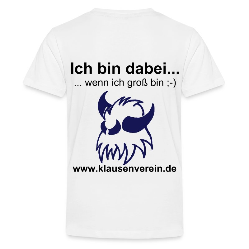 Kinder T-Shirt Fürchti - Teenager Premium T-Shirt