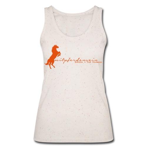 RU Font - Women TankTop - Print: Orange-Digital - Frauen Bio Tank Top von Stanley & Stella