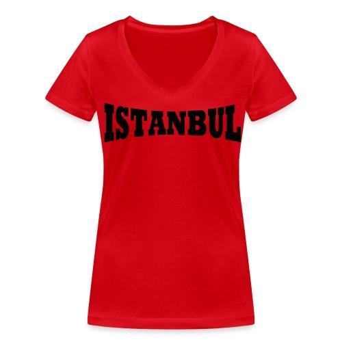 Istanbul Damen - Frauen Bio-T-Shirt mit V-Ausschnitt von Stanley & Stella