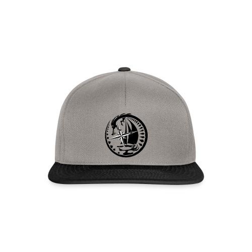 Coole Cap Mütze mit marine Drachen - Snapback Cap