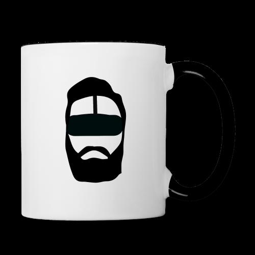 VR-Hipster - Tasse zweifarbig