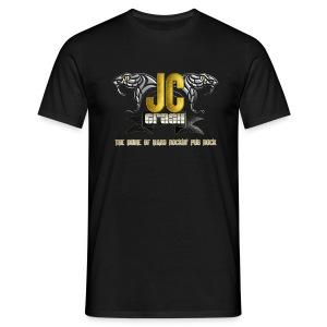 JC Crash The home of Hard Rockin' Pub Rock - Männer T-Shirt
