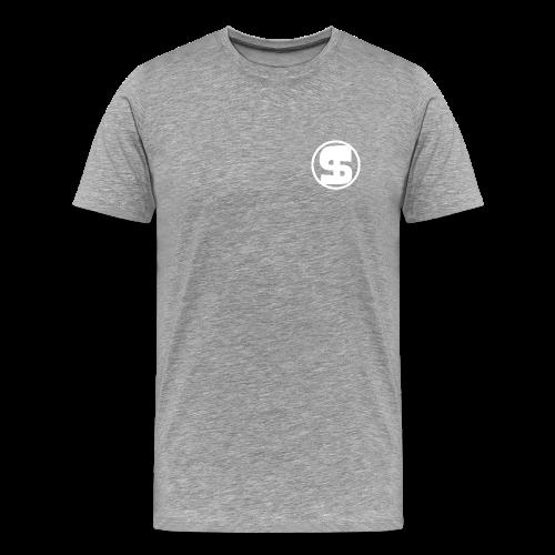 Logo borst volwassen T-Shirt - Mannen Premium T-shirt