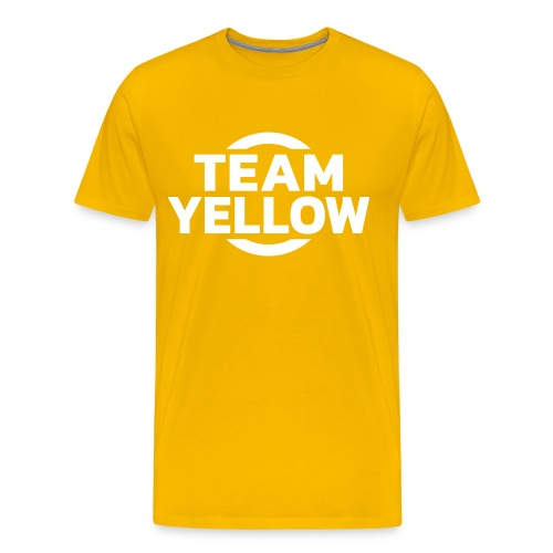 Team Yellow Full On - Men's Premium T-Shirt
