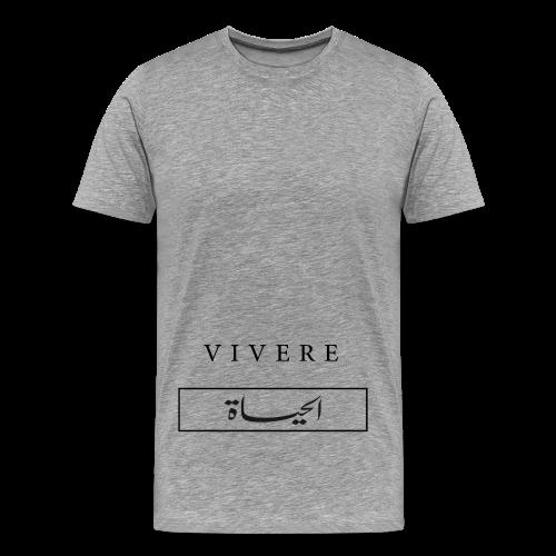 VIVERE / AL HAYAT  - Männer Premium T-Shirt