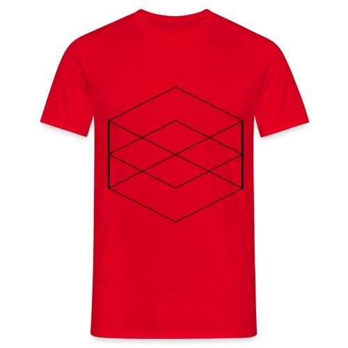 ICEMonk Mens MultiCube Black Variant - Men's T-Shirt