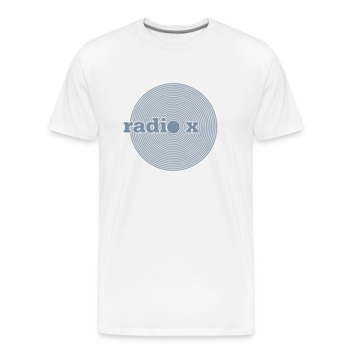 DISC Silber - metallic - Männer Premium T-Shirt