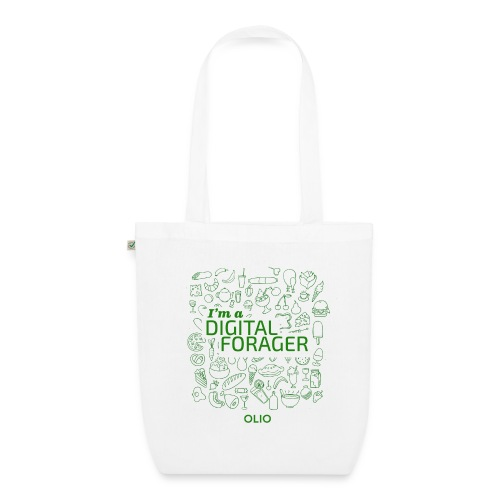Tote Bag - Digital Forager  - EarthPositive Tote Bag