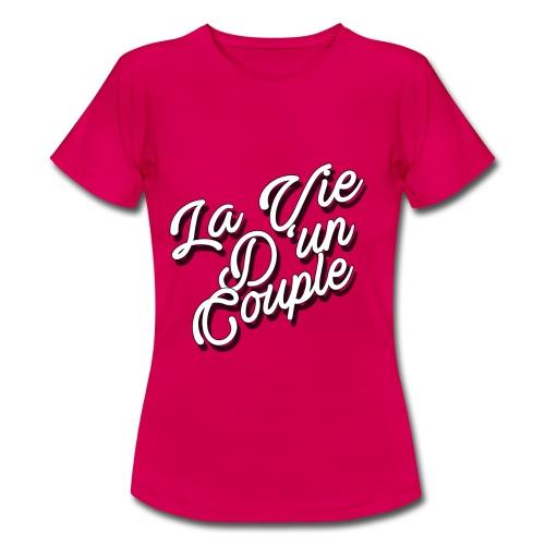 T-shirt Femme Rose - T-shirt Femme