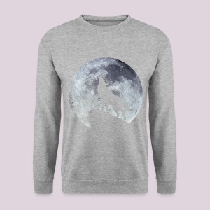 sweat-shirt homme lune  - Sweat-shirt Homme