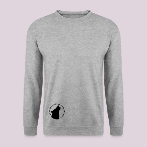 sweat-shirt homme  loup  - Sweat-shirt Homme