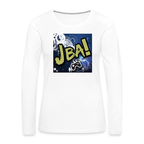 Women's Premium Longsleeve Shirt - The Official T-Shirts By youtuber JBAGAMEZ