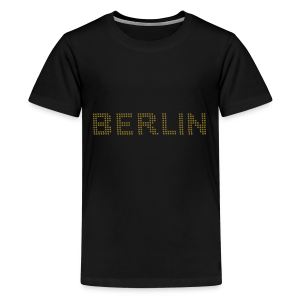 BERLIN Punktschrift - Teenager Premium T-Shirt