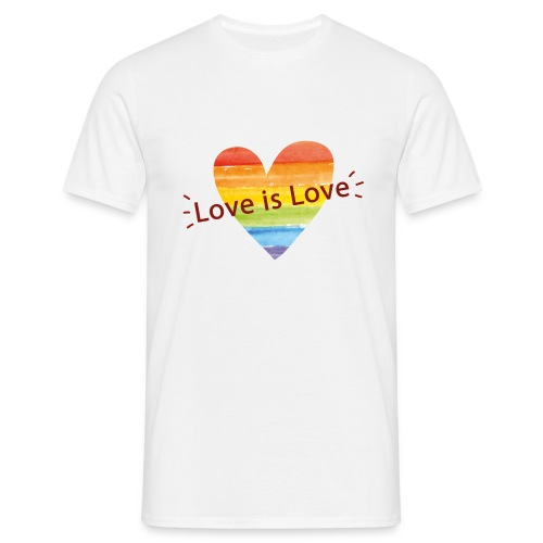 'Love is Love' Men's Tee - Men's T-Shirt