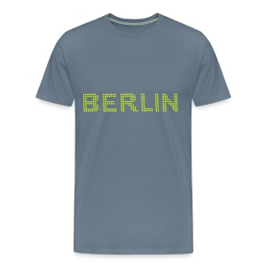 BERLIN Dot font T-Shirts - Men's Premium T-Shirt