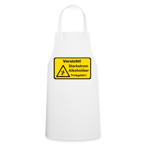 Starkstrom Alkoholiker - Grillschürze - Kochschürze