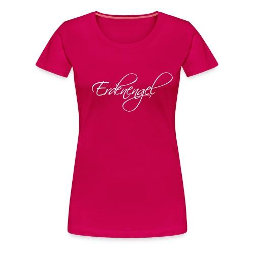 Erdenengel (Flügel am Rücken) - Frauen Premium T-Shirt