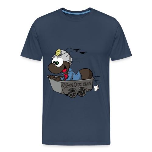 Anton in der Lore - Männer - Männer Premium T-Shirt