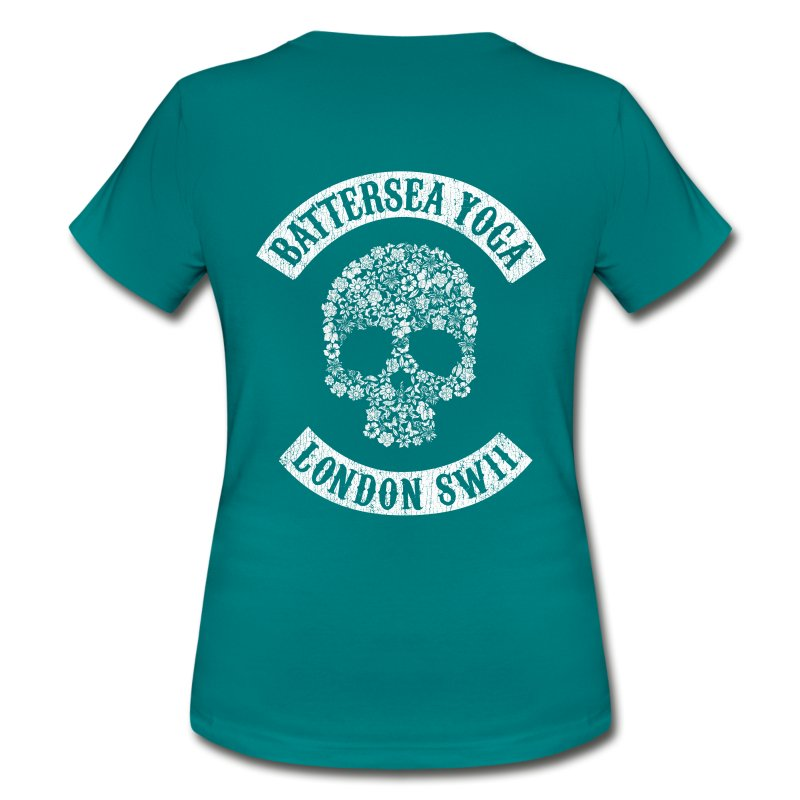 Sons of Battersea Women's Fitted Tee (white logo) - Women's T-Shirt