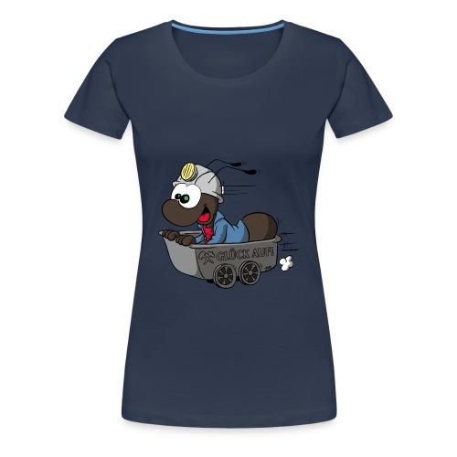 Anton in der Lore - Frauen - Frauen Premium T-Shirt