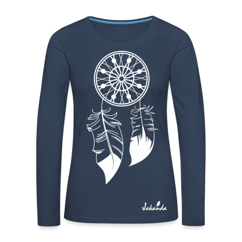 Traumfänger - Frauen Premium Langarmshirt