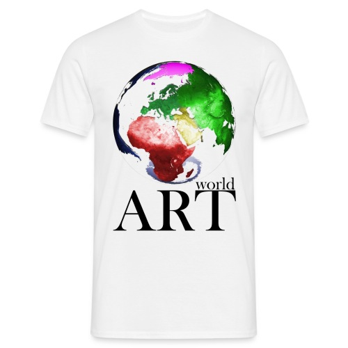 T-Shirt world ART - Männer T-Shirt
