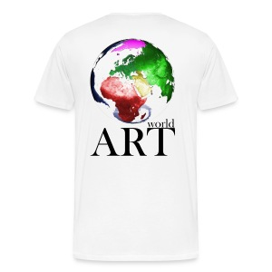 T-Shirt world ART - Männer Premium T-Shirt