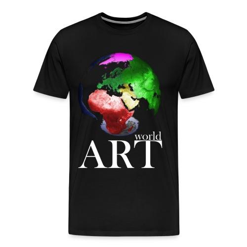 T-Shirt world ART - Männer Premium T-Shirt
