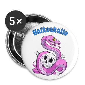 Halkeakallo Pins - Rintamerkit 25 mm