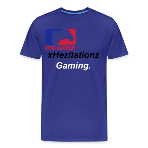 xHezitationz pro gamer - Men's Premium T-Shirt