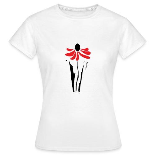 Sonnenhut-Shirt - Frauen T-Shirt