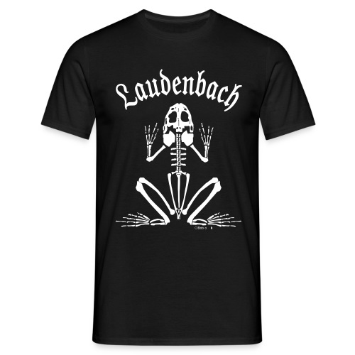 Rhöntgenfrosch vorne - Männer T-Shirt